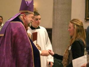 Rite of Election - St. Thomas Peoria, 2012