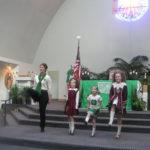 Irish Mass at St. Thomas Peoria, 2012