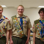 New Eagles Scouts