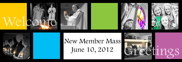 New Member Welcome Mass