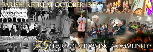 St. Thomas 75th Anniversary Parish Retreat